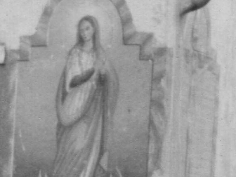 Edicole e affreschi murali ormai scomparsi